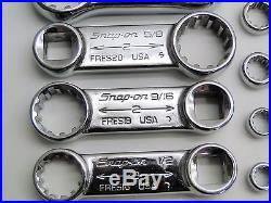 11 Pc Snap On Spline Torque Adaptor Set 3/4 7/32