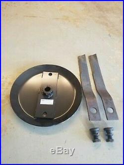 12 Spline Stump Jumper With 5 Ft. Rotary Cutter Blades And Bb55 Blade Bolts