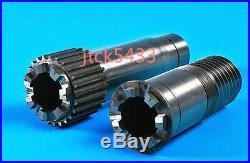 2pcs/Set Splined Gear Hub Vari Speed X6332/2102A Bridgeport Milling machine Part