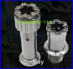 2pcs/set Bridgeport MILL Part, Milling Machine Splined Gear Hub Step Pulley