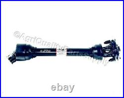 3-Point Tiller PTO shaft with 2-disc slip clutch 1-3/8 6 spline & ½ shear bolt