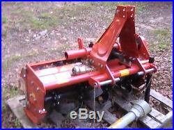 3 pt. 48 rotary offset tiller with spline coupling UNUSED