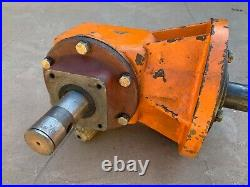 40HP Gearbox, Shear Bolt Input, 12 Spline output, 11.47 gear ratio, (01-008)