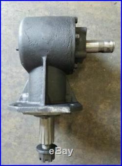 40hp Shear Bolt Rotary Cutter Gearbox, 12 Spline Output Shaft NEW