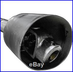 4 PTO Shaft Assembly Series 4 1-3/8 x 6 Spline and 1-3/8 Smooth Round Yokes