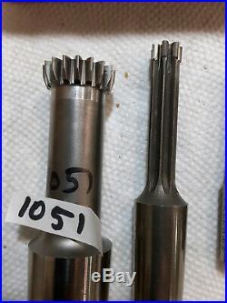 6 pcs, SOLD EACH, Fellows/Spline shaper cutter, Shank type gear cutter, Box FF