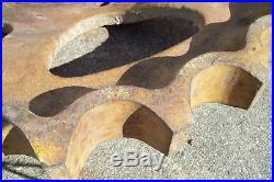 Allis-Chalmers HD-6 Six Spline Track Sprockets 70096145, 70096146, Pair