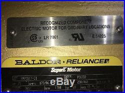 Baldor Electric Motor 75 H. P