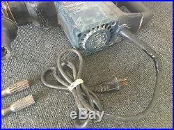 Bosch 11219EVS 115v 950w Heavy Duty Rotary Spline Hammer drill With 3 Bits