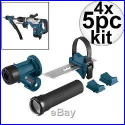 Bosch Tools HDC300 4pk SDS-Max and Spline Hammer Dust Collection Attachment New