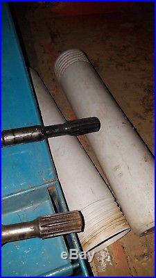 Bosch demolition hammer with 4 included spline shaft bits, 120v, hard case