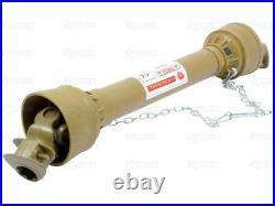 COMPLETE PTO SHAFT (LEMON TUBE) QUICK RELEASE. (LZ 1010mm). 6 SPLINE