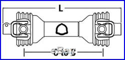CS42814 109-40 Economy Rotary Cutter Driveline PTO Size 4 Spline