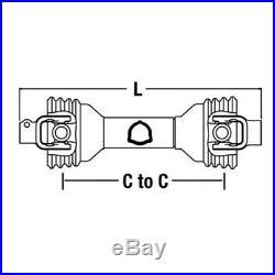 CS44114 HD PTO Shaft 1.375 6 Spline X 1.375 Round for King Kutter FM48 FM60 FM72