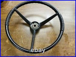 Case 155 Garden Tractor Mower Steering Wheel Original Spline Shaft