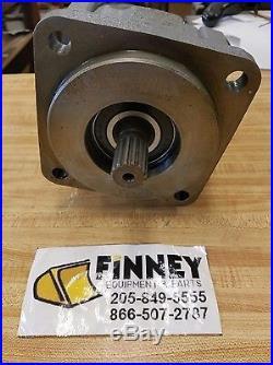 Case Loader Backhoe 580L Hydraulic Pump 130258A1 130258A2 15 spline NEW