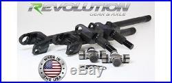 Chromoly dana 30 front axle kit 30 spline usa made