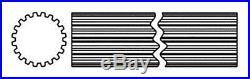 D442720 3 ft Long 20 Spline 1-11/16 Splined Shaft 35 44 55 Domestic Series