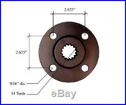 DD-257-R Spline Drive Hub Fits Broce Broom, BRDD-257R