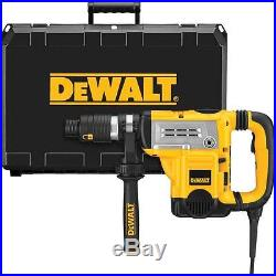 DEWALT 1-3/4 in. Spline Electronic Rotary Hammer Kit with Shocks and CTC D25651K