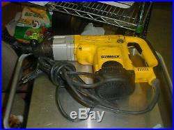 DeWalt D25550 1-9/16 Rotary Hammer Drill Adjustable Speed, 120VAC, Spline Drive