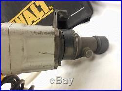 DeWalt D25551 Spline Drive Rotary Hammer Drill w Case + 7 Bits