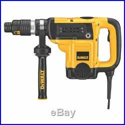 Dewalt D25553K Combination Rotary Hammer Kit, 120 V, 12 A Spline Chuck, 0 490