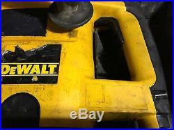 Dewalt DW530 1 1/2 Rotary Spline Hammer Drill / Demo Hammer
