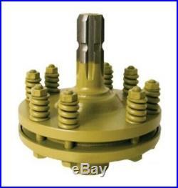 ECC0020 PTO Slip Clutch Torque Limiter 1.375 in x 6 Spline Male and Female