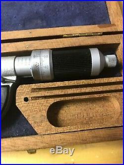 Etalon Microrapid Swiss 0.800 Spline Micrometer. 0001, Carbide Anvils, Lock