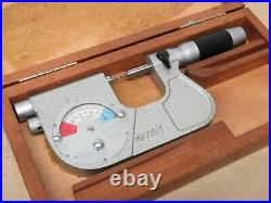 Etalon Switzerland 0-22mm Outside External Spline Micrometer With Dial Indicator