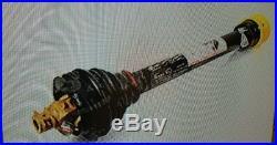 FLEX wing Rotary Cutter Pto Shaft 1-3/4 x20 1-3/4 x 20 spline