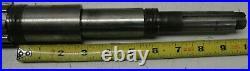 Fitzpatrick DAS06 FitzMill Hammer Impact Mill spline shaft 1322-0032