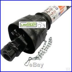 Flail Mower PTO Drive shaft c/w Safety Slip Clutch Plate Protection 6 Spline