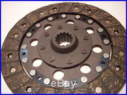 Ford 1910 2110 Shibaura 4340 4440 5040 9 1/2 13 spline tractor clutch disc