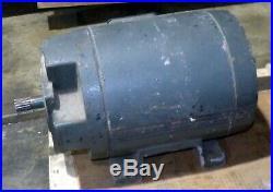 Franklin Electric 10 HP 3 Phase Spline Shank Motor