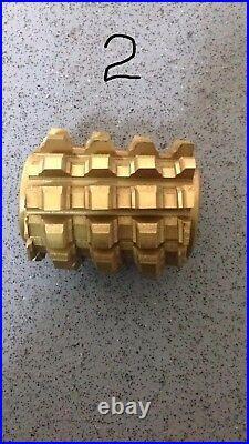 Gear hob all types Modul, DP, timing belt, sprocket, worm, splines series