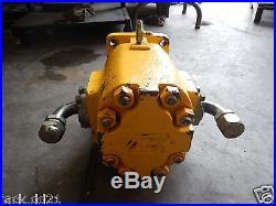 Genuine Commercial Intertech Hydraulic Gear Pump WM76A Lor 1 1/4 Spline Shaft