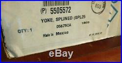 Genuine Eaton Fuller Transmission 5505572 Yoke Splined Spl250 H/r