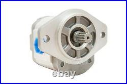 Hydraulic Gear Pump 1-4 GPM 9 Tooth Spline Shaft SAE A-2 Bolts CW Aluminium