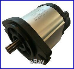 Hydraulic Gear Pump, 28cc/rev, 22gpm@3000rpm, 3625psi, Spline Shaft, SAE A, RearPort