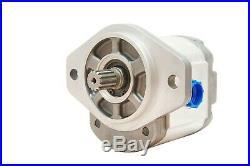 Hydraulic Gear Pump 2-11 GPM 9 Tooth Spline Shaft SAE A-2 Bolts CCW Aluminium