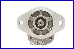 Hydraulic Gear Pump 3-17 GPM 9 Tooth Spline Shaft SAE A-2 Bolts CW Aluminium