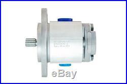 Hydraulic Gear Pump 5-23 GPM 13 Tooth Spline Shaft SAE B-2 Bolts CCW Aluminium