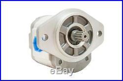 Hydraulic Gear Pump 5-27 GPM 13 Tooth Spline Shaft SAE B-2 Bolts CCW Aluminium