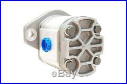 Hydraulic Gear Pump 6-28 GPM 13 Tooth Spline Shaft SAE B-2 Bolts CW Aluminium