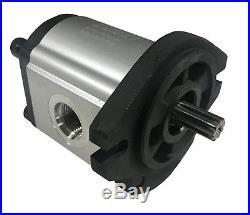 Hydraulic Gear Pump, 6cc/rev, 3.2 gpm @ 2000rpm, 3625psi, Spline Shaft, SAE A