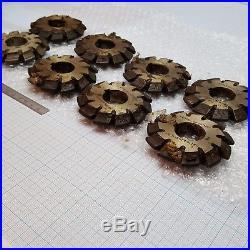 Involute Gear Cutter Set M4.5 PA20° HSS (1-8) Bevel Spline Modulfräser Satz