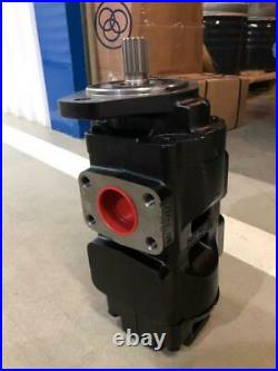 JCB Genuine Parker 4DX Hydraulic PUMP Spline Type 332/F9031,20/925581 with MRV