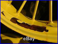 John Deere Unstyled A Tractor 10 Spline Rear Factory Round Spoke Wheel 3131